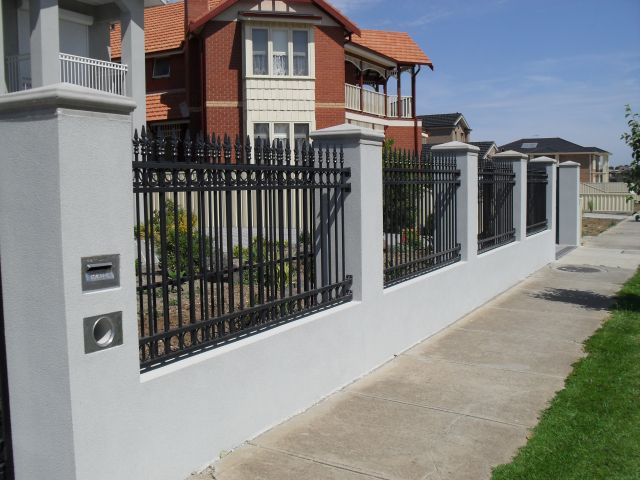 Steel fences - Metal fence designs pictures ...